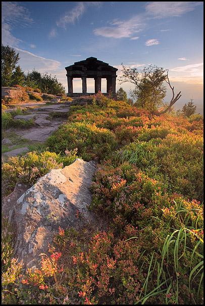Temple du Donon, Bas-Rhin, Alsace, France