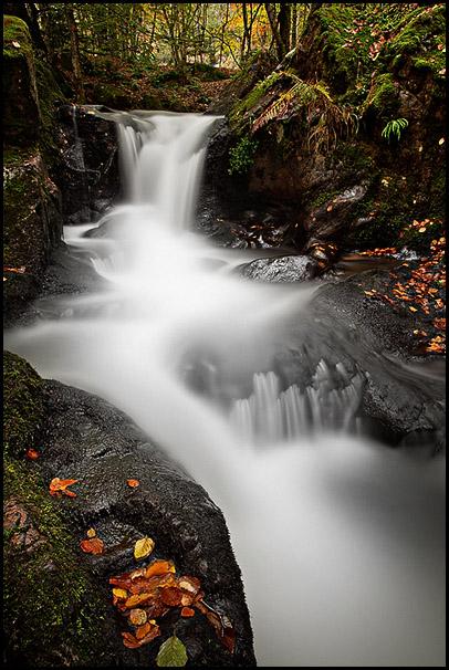 Cascades de Seebach, Sewen, Haut-Rhin, Alsace, France