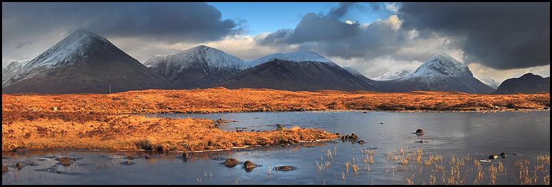 Montagnes Cuillins, Sligachan, Isle Of Skye, Scotland