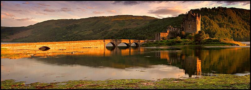 Eilean Donan Castle, Loch Duich, Dornie, Lochalsh, Scotland