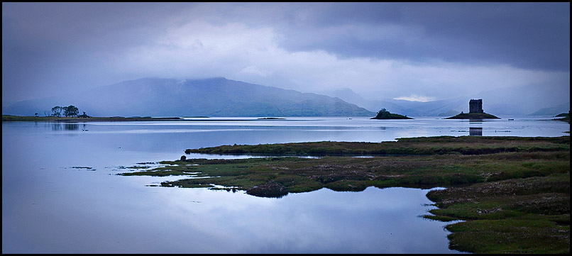 Castle Stalker, Loch Laich, Port Appin, Argyll & Bute, Scotland