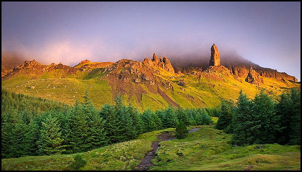 Sunrise on the Old Man of Storr, Isle of Skye, Scotland