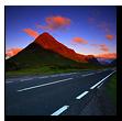 Sunrise, Buachaille Etive Mor, Glen Etive, Rannoch Moor, Scotland