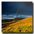 Rainbow, Kilbride point, Port Kilbride, Trotternish, Isle of Skye, Scotland