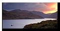 Boat, Loch Glendhu, Kylesku, Sutherland, Highlands, Scotland