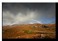 Rainbow near Loch Cluanie, Highlands, Scotland