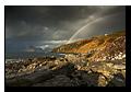 Rainbow, Cuillin Hills, Loch Scavaig, Elgol, Isle of Skye, Scotland