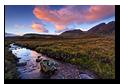 Abhainn an t-Sratha Mhoir, Bla Bheinn, Torrin, Isle of Skye, Scotland