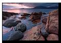 Pink Hour, Loch Scavaig, Cuillin Hills, Elgol, Isle of Skye, Scotland