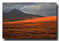 Black mountain, Rannoch Moor, Highlands, Scotland