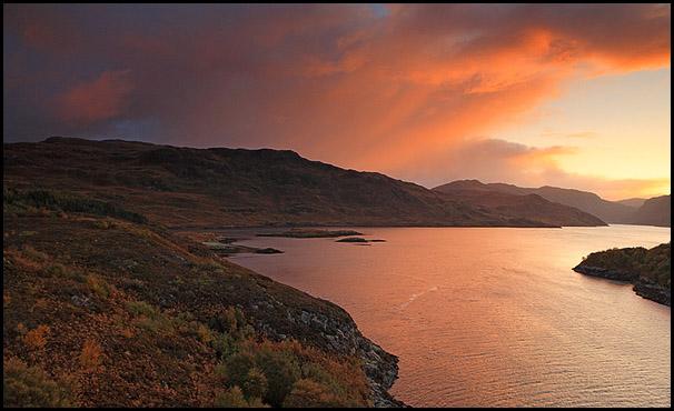 Loch Glendhu, Kylesku, Sutherland, Highlands, Scotland