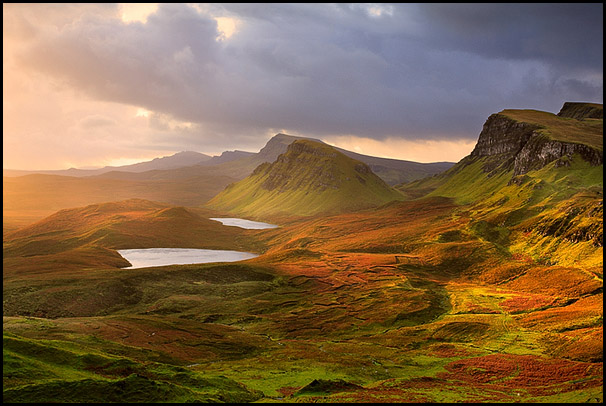 Quiraing, Loch Cleat, Isle of Skye, Scotland
