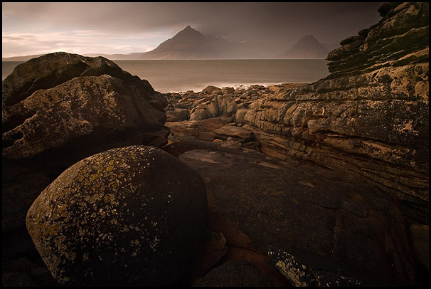 Storm, Loch Scavaig, Cuillin Hills, Elgol, Isle of Skye, Scotland