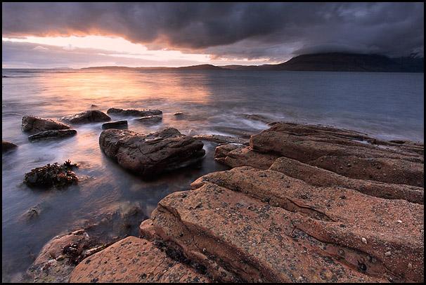 Crepuscule, Loch Scavaig, Elgol, Isle of Skye, Scotland