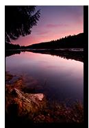 Lac de Lispach, La Bresse, Vosges, France