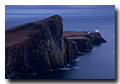 Phare de Neist de nuit, Neist Point, Lighthouse, Isle of Skye, Scotland