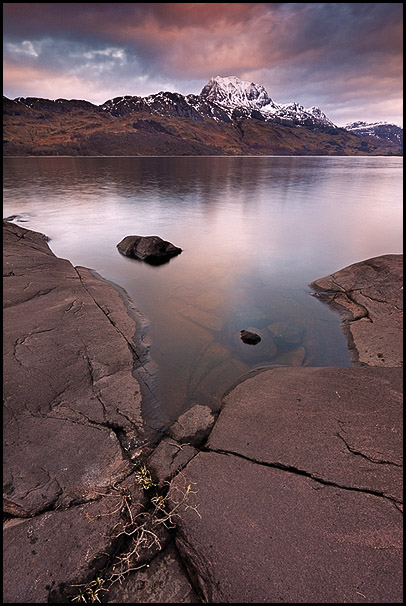 Loch Maree and Slioch Mountain, Wester Ross, Highlands, Scotland