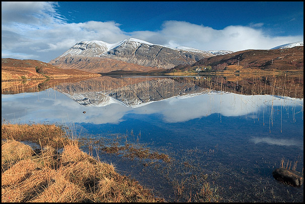 Arkle, Loch Stack, Sutherland, Highlands, Scotland