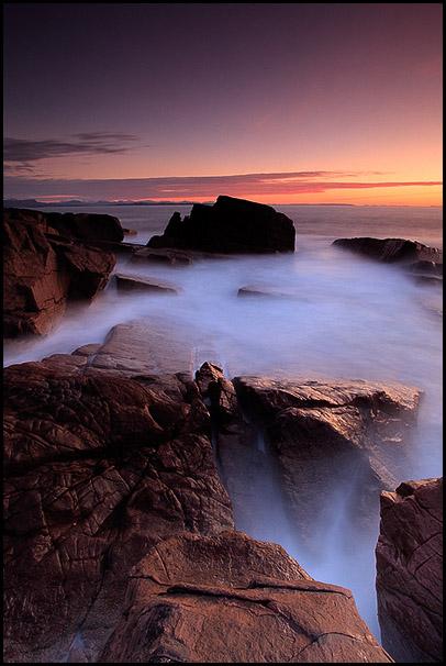Crepuscule sur Stoer, Sutherland, Highands, Scotland