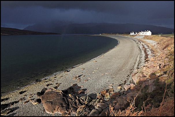 Baie de Ardmair, Loch Kanaird, Ullapool, Cromartyshire, Highlands, Scotland