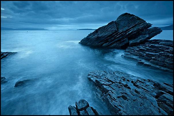 Gros rocher, Loch Scavaig, Elgol, Isle of Skye, Scotland