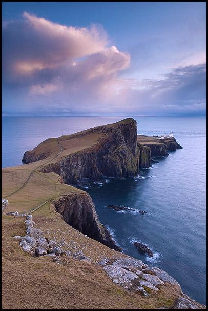 Neist Point, Lighthouse, Isle of Skye, Scotland