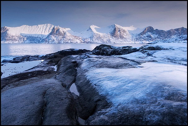 Skultran, Mefjordvær, Senja, Troms, Norvège