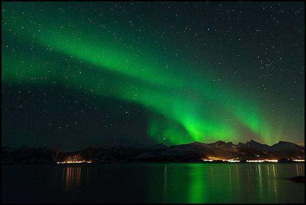 Bergsfjorden, Senja, Troms, Norway