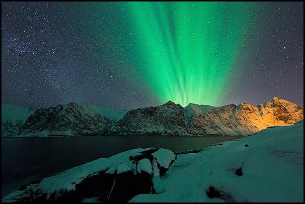 Tungeneset, Senja, Troms, Norway